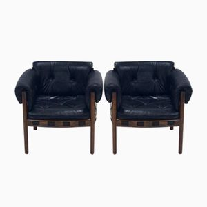 Mid-Century Club Chairs by Arne Norell for Coja, 1960s, Set of 2