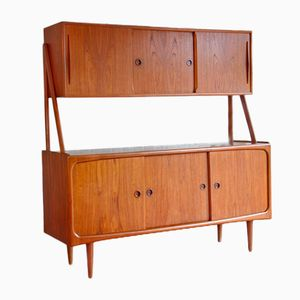 Vintage Danish Double Sideboard in Teak