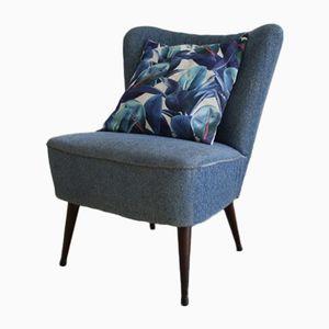 Blue Vintage Cocktail Chair