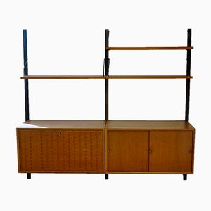 Mid-Century Teak Wall Unit by Poul Cadovius for Cado, 1960s