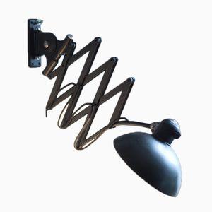 Grande Lampe à Ciseaux Modèle 6614 Vintage de Christian Dell pour Kaiser Idell