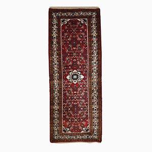 Tappeto vintage Hamadan persiano fatto a mano, anni '70