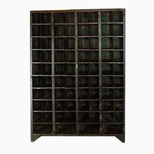 Antique Industrial Storage Unit in Steel