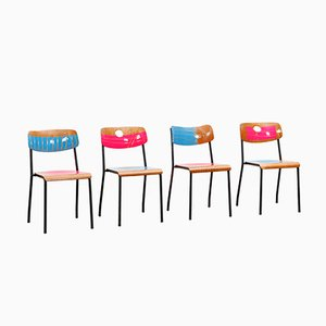 Loyalty Is Royalty Chairs by Markus Friedrich Staab, Set of 4
