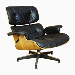 Model 670 Rosewood Lounge Chair by Charles & Ray Eames for Herman Miller, 1970s