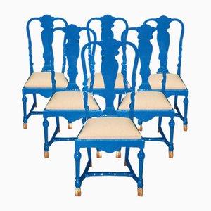 Vintage Stühle von Jean Claude Mahey, 6er Set