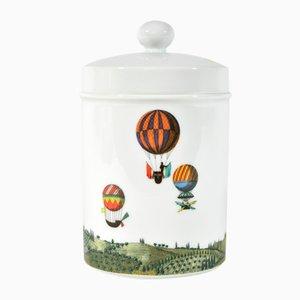 Pot Vintage en Porcelaine par Piero Fornasetti pour Rosenthal