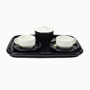Servizio da caffè Tête à Tête in ceramica di 4p Pareschi