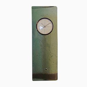 Französische Vintage Uhr aus Glas von Penichey Saint Gobain