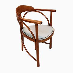Vintage Nr.81 Rondo Bugholz Schreibtischstuhl von Thonet