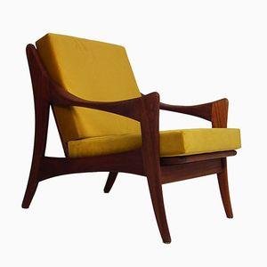 Mid-Century Teak Chair from De Ster Gelderland