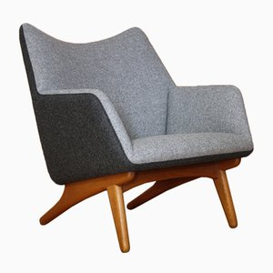 Danish Lounge Chair by Illum Wikkelsø for Mikael Laursen, 1960s