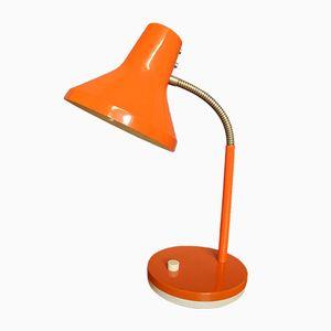 Orange Tischlampe von Pfäffle Leuchten, 1970er
