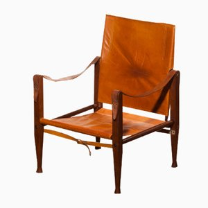 Danish Safari Chair by Kaare Klint for Rud, Rasmussen, 1930s