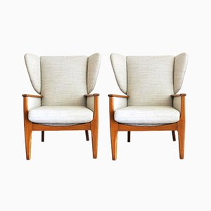 Vintage Wingback Chair from Parker Knoll, 1960s, Set of 2
