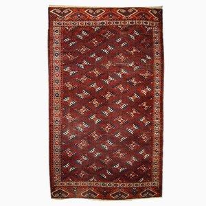 Tapis Yomud Antique Fait Main, Turkménistan, 1880s