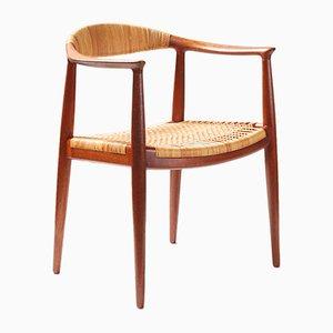 Sedia da scrivania modello JH-501 The Chair di Hans J. Wegner per Johannes Hansen, 1949