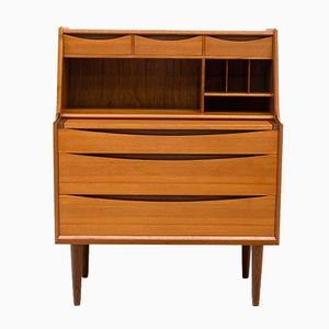 Danish Teak Secretaire by Arne Vodder for Sibast, 1960s