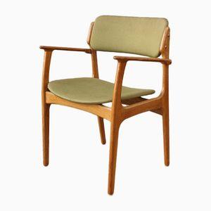 Vintage Modell 50 Beistellstuhl aus Eiche von Erik Buch für O.D. Møbler
