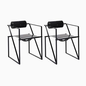 Vintage Seconda Chairs by Mario Botta for Alias, Set of 2