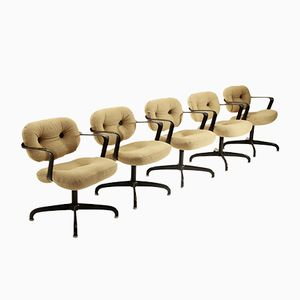 Model 2328 Chairs by Andrew Morrison & Bruce Hannah for Knoll, 1970s, Set of 5