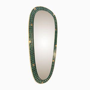 German mosaic Mirror, 1950s