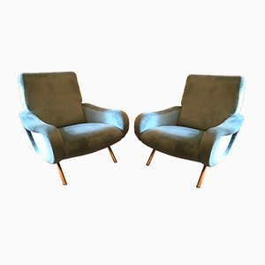 Armchairs by Marco Zanuso for Arflex, 1950s, Set of 2