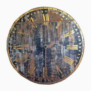Antikes Kirchenuhr Ziffernblatt
