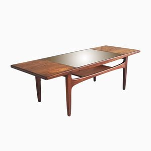 Teak Coffee Table with Glass Inset from G-Plan, 1970s