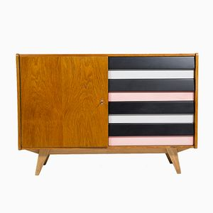 Mid-Century Chest of Drawers U-458 by JIri Jiroutek for Interier Praha