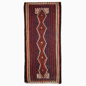 Tappeto Gashkai Kilim vintage fatto a mano, Iran, anni '60