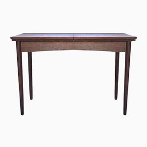 Vintage Teak Tisch mit Ausziehbarer Tischplatte