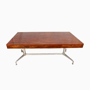Mid-Century Rosewood Desk by Giancarlo Piretti, 1960s