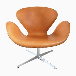 Danish Swan Chair by Arne Jacobsen for Fritz Hansen, 1967