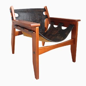 Brazilian Kilin Lounge Chair by Sergio Rodrigues for Oca, 1970s