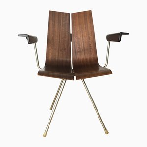 Vintage Swiss GA 4017 B PH / TYP 739 Chair by Hans Bellmann for Horgen Glarus, 1970s
