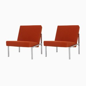 Mid-Century Modern Dutch Lounge Chairs by Martin Visser for 't Spectrum, 1960s, Set of 2