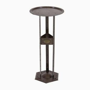 Vienna Secession Pedestal Table by Hugo Berger Goberg, 1900s
