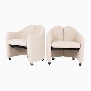 Italian Armchairs by Eugenio Gerli for Tecno, 1966, Set of 2