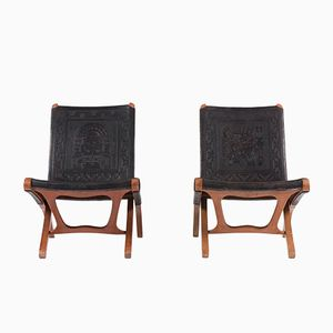 Lounge Chairs by Angel I Pazmino for Muebles de Estilo, 1960, Set of 2