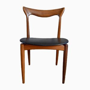 Mid-Century Scandinavian Chairs by Henry Walter Klein for Bramin, Set of 4