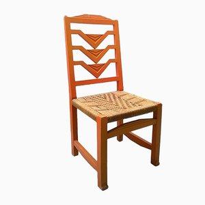 Italian Futurist Chair, 1930s