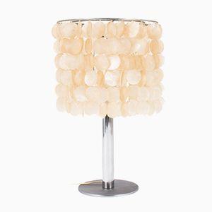 Lampe de Bureau avec Suspensions Mother-of-Pearl de Del Vecchio, 1950s