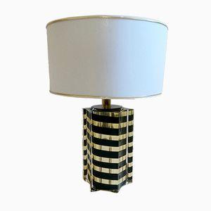Italian Lucite Table Lamp, 1970s