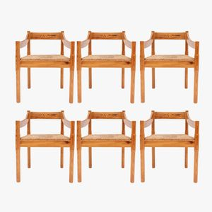 Carimate Chairs by Vico Magistretti for Cassina, 1960s, Set of 6