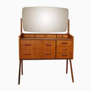 Mid-Century Scandinavian Teak Dressing Table