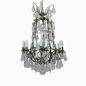 Lustre Cage Antique Louis XV