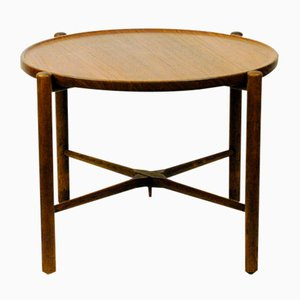 Vintage Danish Teak Coffee Table by Hans Wegner for Andreas Tuck