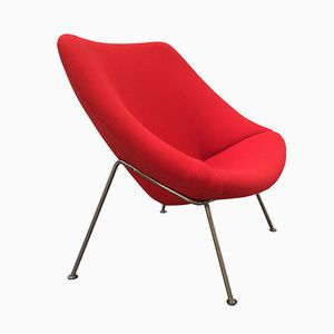 Vintage Dutch Oyster Chair by Pierre Paulin for Artifort