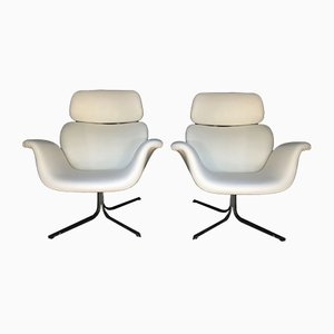 F545 Large Tulip Lounge Chairs by Pierre Paulin for Artifort, Set of 2